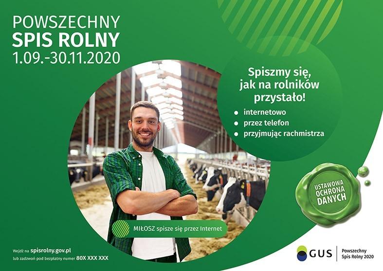 Spiszmy się, jak na rolników przystało, bo liczy się rolnictwo! Pamiętajmy, że jest to nasz obywatelski obowiązek!