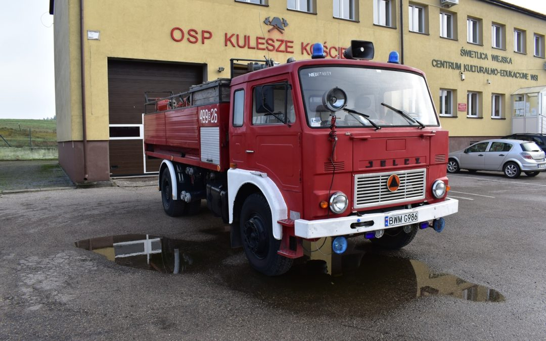 Ogłoszenie o przetargu pisemnym ofertowym nieograniczonym na sprzedaż samochodu pożarniczego!