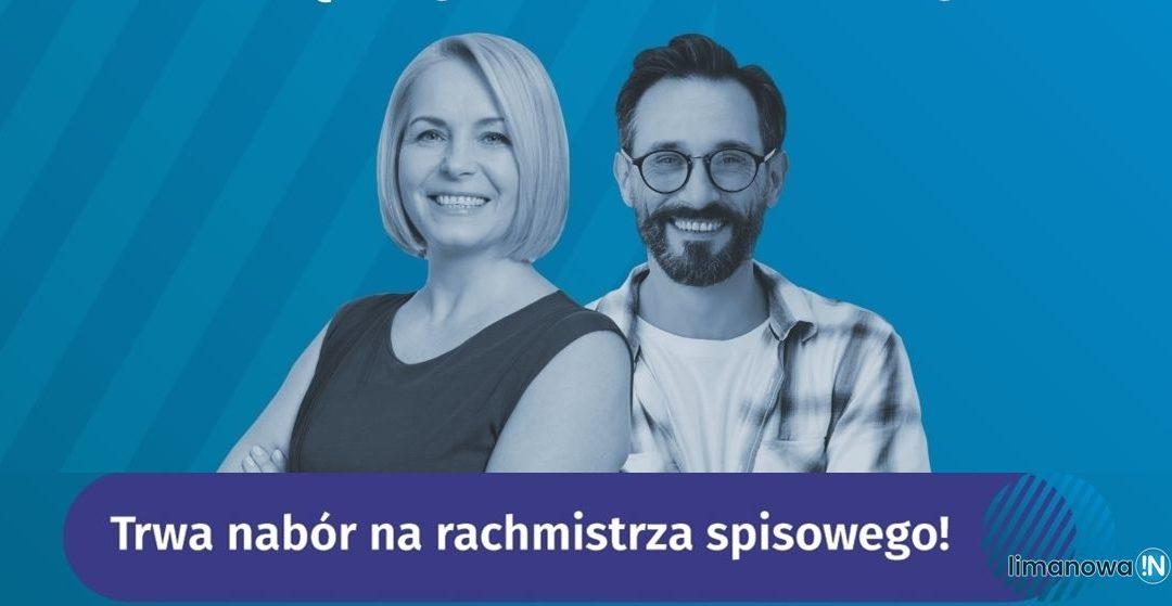 Nabór kandydatów na rachmistrzów do Narodowego Spisu Powszechnego Ludności i Mieszkań 2021.